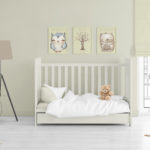 Baby nursery décor ideas (and a free wall art download)
